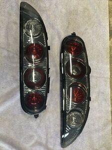 MAZDA MX-3 Altezza style tail lights - USED- chrome/smoked lens MX3/presso/30X