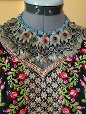 Ethnic Adornment (#5800) Vintage Baloch Tribal Necklace