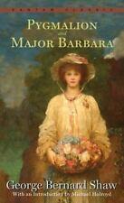 Pygmalion and Major Barbara by George Bernard Shaw (1992, Paperback)