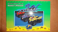 Dinli OEM DINO OWNERS  MANUAL  DL - 501 RARE NEW!