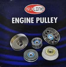 NULINE 6PCS Pulley Kit FOR HOLDEN Commodore VT VX VY V6 SUPERCHARGED 3.8L 96-00