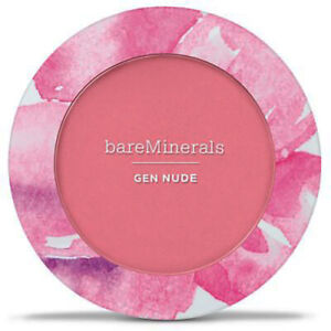 bareMinerals Gen Nude Powder Blush - Lover's Rose - Boxed - Peach toned piink