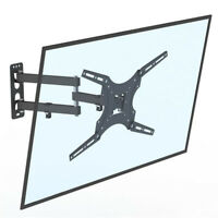 "Adjustable TV Wall Mount Bracket For 26 32 37 40 42 47 50 55"" Sony LG Samsung"