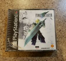 Final Fantasy VII Playstation 1 Black Label - Final Fantasy 7 - FF7