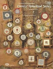 Canterbury Designs- Country Homestead Series Counted Cross Stitch 1982
