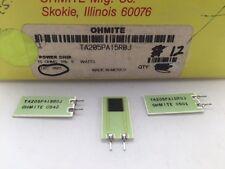 (10 pcs) TA205PA15R0J Ohmite, 5 Watt 15 Ohm 5%, High Power, Thick Film Resistor