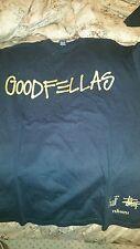 Goodfellas Stussy/ Huf Black and Gold M XL