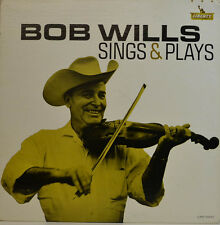 BOB WILLS - SINGS & PLAYS - LIBERTY REC. LRP 3303 LP (X401)