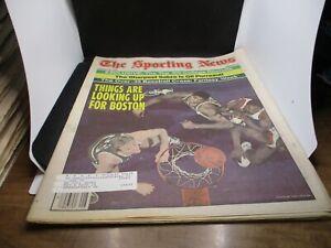 The Sporting News Newspaper Feb 20 1984 Looking Up Boston Celtics Larry Bird