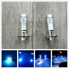 NEW 2x H1 8000K ICE BLUE 100W CREE LED Headlight Bulbs Kit Fog Driving Light
