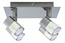 666.05 Paulmann Spotlights Hoya Deckenlampe 4x40W G9 Nickel dichroic 66605