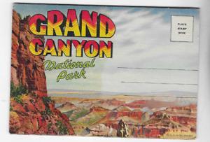 VINTAGE-POSTCARD FOLDER-GRAND CANYON NATIONAL PARK