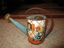 1940's Ohio Art Romeo & Juliet Tin Toy Watering Can!!!!