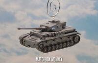 German Pzkw IV G Panzer Tank Army Battle for Stalingrad Christmas Ornament 1/100
