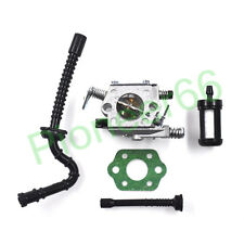 For Stihl 021 023 025 MS210 MS230 MS250 Carburetor Carb Fuel Oil Filter Line