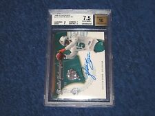 DAVONE BESS DOLPHINS 2008 SP AUTHENTIC AUTO RC #231 BGS 7.5 AUTO 10 #1 (18GR)