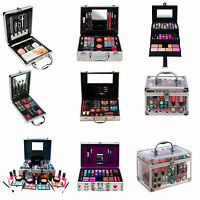 82 PIECE VANITY CASE MAKE UP SET MAKEUP BOX BEAUTY COSMETIC GIFT XMAS STORAGE