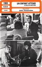 FICHE CINEMA : UN ENFANT ATTEND - Lancaster,Cassavetes 1962 A Child Is Waiting