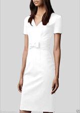 Women's No Pattern Short Sleeve V Neck Wiggle, Pencil Dresses