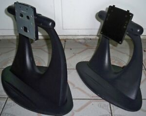"""Lot of 2: Dell LCD Monitor Stand for UltraSharp 2000FP 20.1"""""""