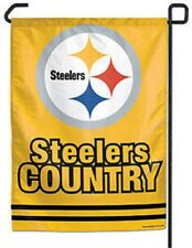 Pittsburgh Steelers Yellow 11x15 Garden Flag [NEW] NFL Banner Sign Fan Yard