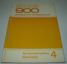 Werkstatthandbuch Saab 900 Automatisches Getriebe Automatikgetriebe ab 1979!