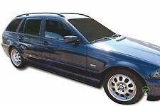 DBM11122 BMW 3 E46 5DOOR ESTATE 1998-2007 WIND DEFLECTORS 4pc HEKO TINTED
