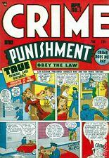 Golden Age Crime Story Comics on DVD-Crime & Punishment, T-man, & Justice Traps