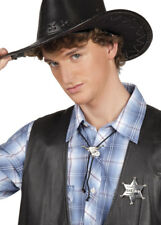 Cowboy Sheriff Star Accessory Set INCLUDES BADGE AND NECK TIE ONLY