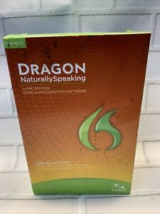 Dragon Naturally Speaking Home Edition Version 12 Speech Recognition NIB