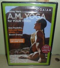 Sealed New ~ AM Yoga for Your Week (DVD, 2008)
