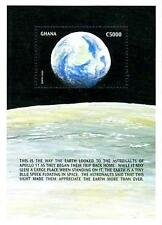 GHANA 1989	 SPACE APOLLO 11 MNH VIEW of EARTH from MOON