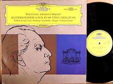 DGG Mozart KEMPFF Piano Concertos #23 & #24 LEITNER SLPM 138 645