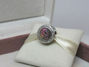 New Pandora PINK Day of the Dead Sugar Skull Charm ENG792016Z ONLY 1000 MADE!!