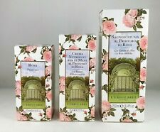 L'erbolario Perfume Rosa 50ml+Hand Cream 75ml+ Foam Bath 250ml Woman