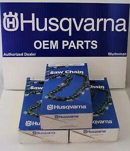 "3 Husqvarna OEM  24"" 3/8"" .050"" 84  Chainsaw Saw Chain 501842784 591132084"