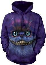The Mountain Unisex Adult Big Face Cheshire Cat Hoodie