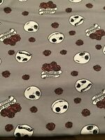Nightmare Before Christmas Fabric Master of Fright Fabric Fat Quarter 18 X 22