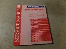 2001 Subaru Impreza Factory Service Manual Vol 7 Body Cab Accessories