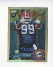 2011 Topps Chrome Refractor #124 Marcell Dareus Rookie Bills