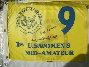 USGA 9th HOLE womens flag