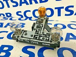 SAAB 9-5 95 Right Rear Tail Light Bulb Cluster Holder & Bulbs 4677068 98-01 4DR