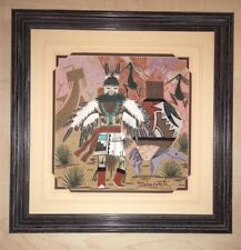 Keith Silversmith Navajo Sand Painting- Unknown Title