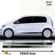 Fits VW Up Racing Stripes Stickers Decal Tuning Car Graphics