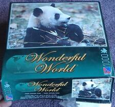 Gently Used 1000 Piece Jigsaw Puzzle - Panda, Sichuan, China EXCELLENT CONDITION