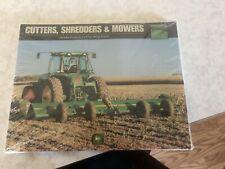 1 Package of John Deere Cutters, Shredders & Mowers Brochure