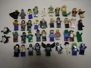LEGO BULK LOT 38 MINIFIGURES MOVIE  ROCK RAIDERS MINECRAFT COLLECTIBLE  MORE