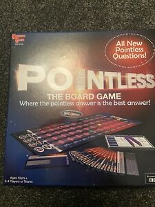 POINTLESS THE GAME WITH NEW QUESTIONS BASED ON TV SHOW BBC Brand New @