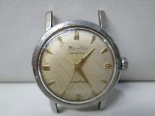 Vintage Lucien Piccard Seashark Waterproof Automatic Running Watch