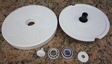 [KitP1] Polaris 280 Pool Cleaner Wheel Kit Bearings Axle Screw Wheel Washer